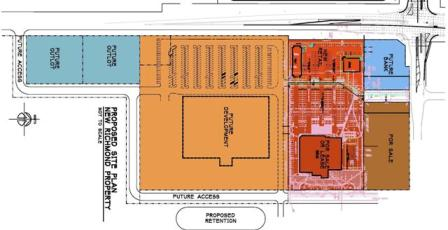 Proposed Retail Center, Highway 65/Doreset Lane, New Richmond