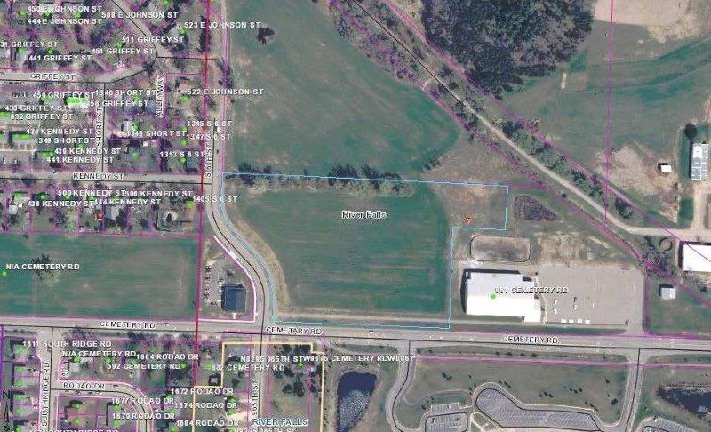 8.41 Acres Vacant Land For Sale in River Falls, WI